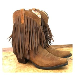 Ariat Fringe Cowboy Boots